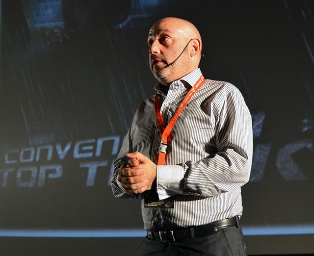 José Moreno. Top Truck. Convención Kinépolis
