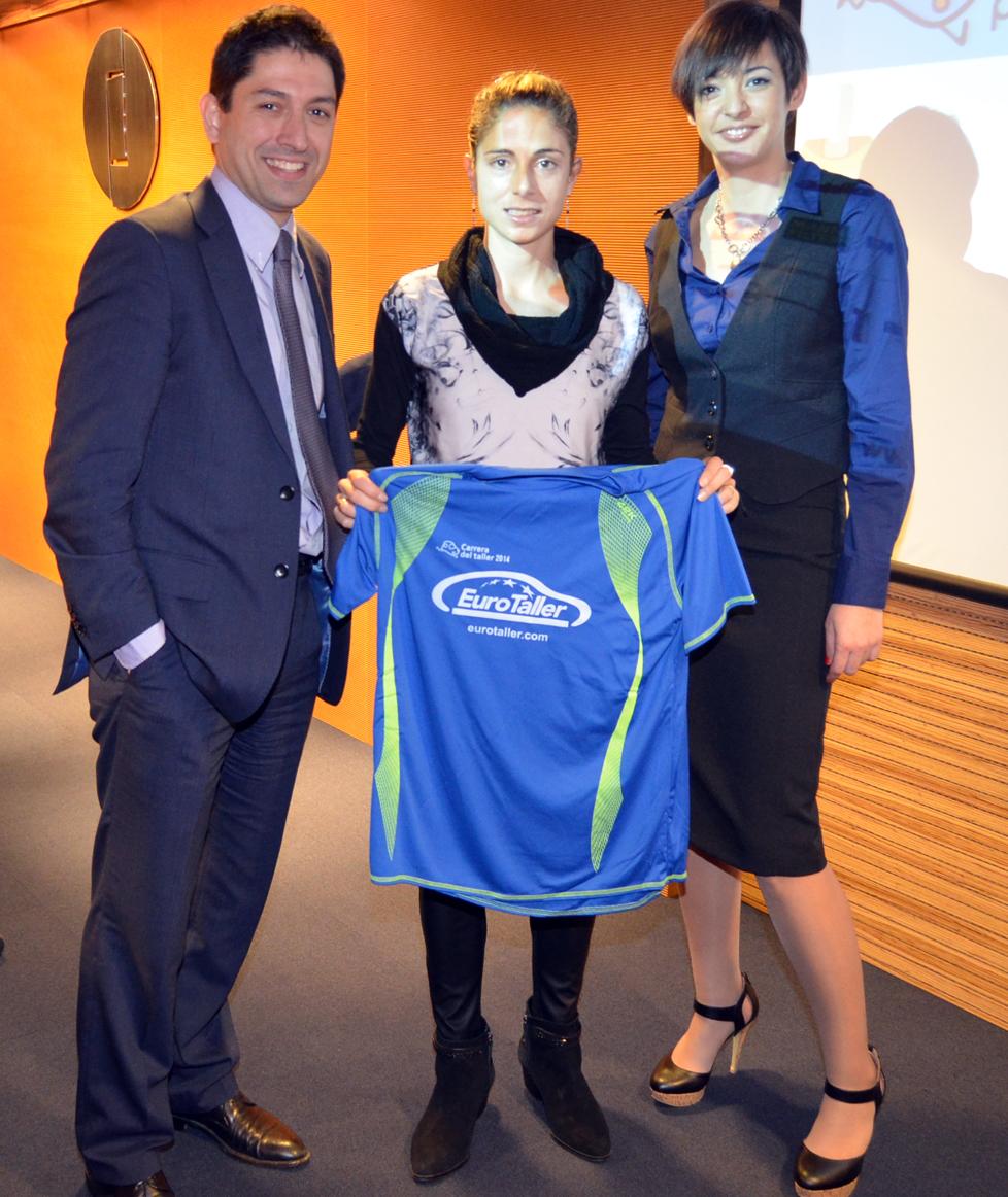EuroTaller y la atleta Diana Martín