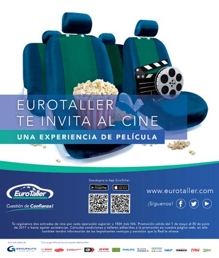 Camapañ promocional eurotaller cine 2017