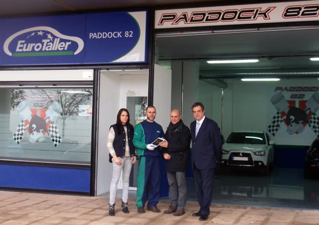 Paddock 82 entrega el segundo iPad mini de nuestra campaña de invierno EuroTaller