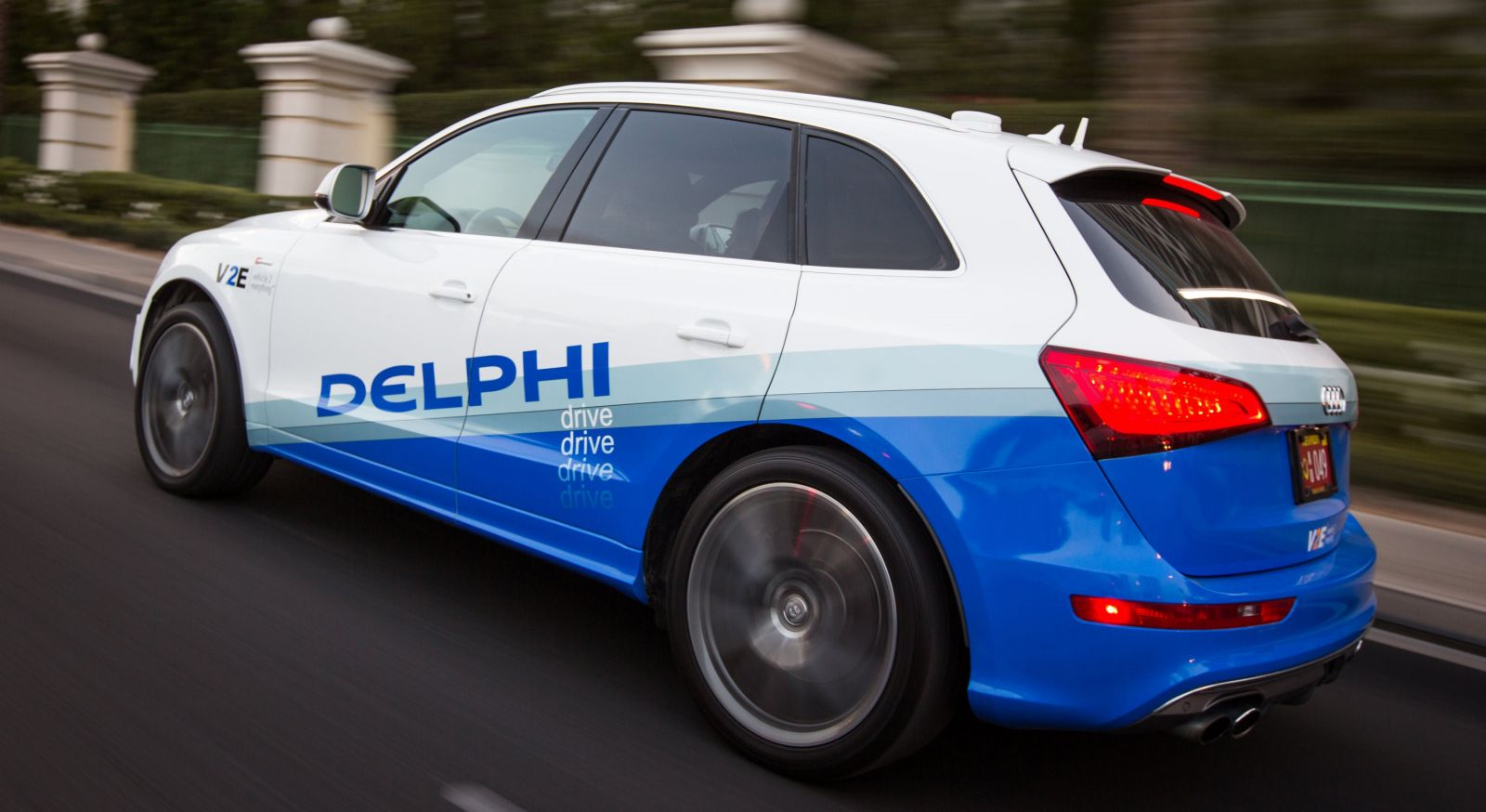 Delphi coche vehículo autonomo conectado