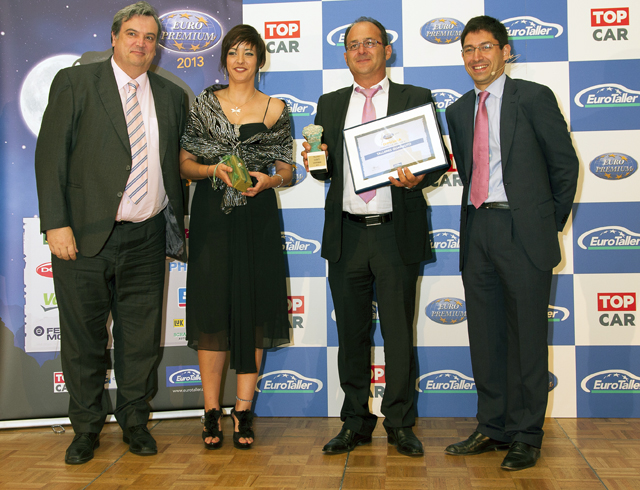 Guadauto recibe el Europremium 2013