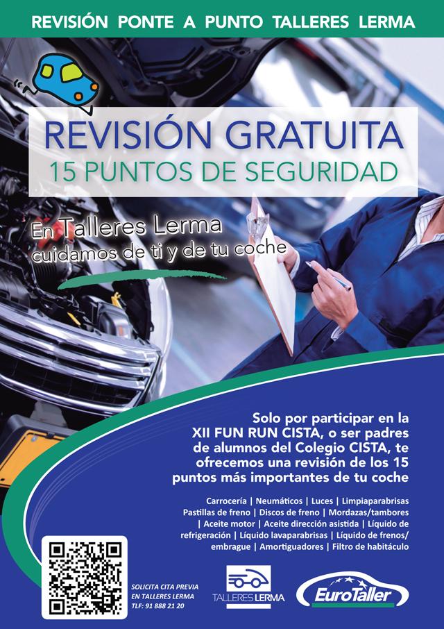 Revisión de seguridad del coche en el EuroTaller Talleres Lerma