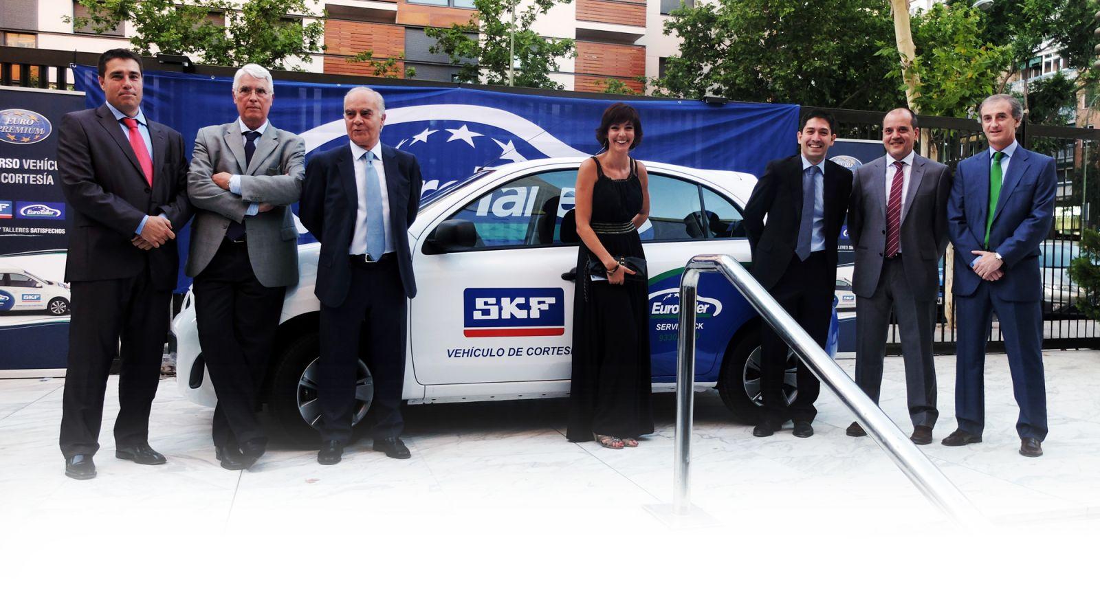 Sorteo coche de sustitución SKF y EuroTaller