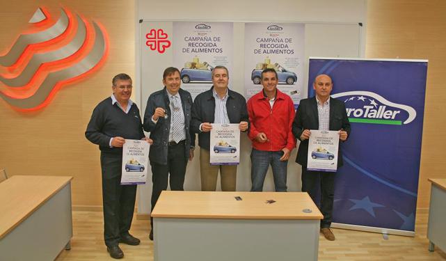 Los EuroTaller e Intertaller vinculados a Grupo Peña Automoción, solidarios con Cáritas.