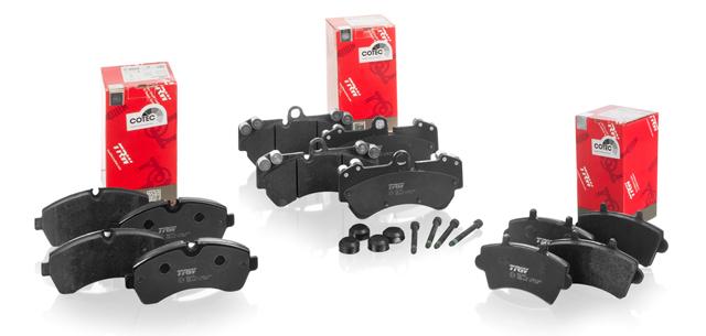 Pastillas de freno TRW SUVs Vehículo comercial ligero y alta gama