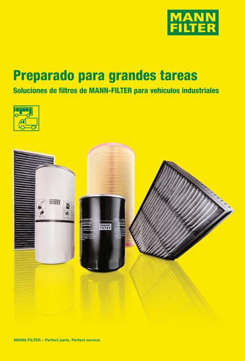 Catálogo MANN-FILTER Vehículo Industrial V.I.