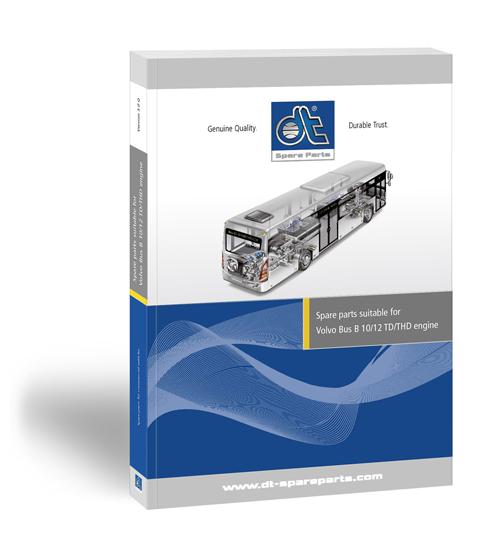 Catálogo de recambios para autobuses Volvo DT Spare Parts