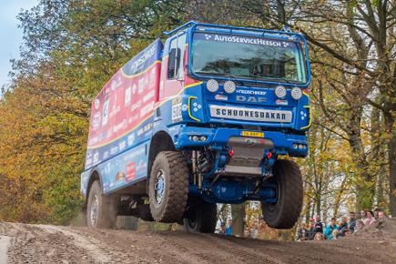 Top Truck y DT Spare PArts, juntos en el Dakar