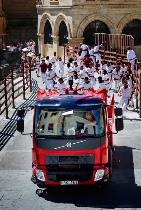 Volvo Trucks FL, de encierro en Ciudad Rodrigo