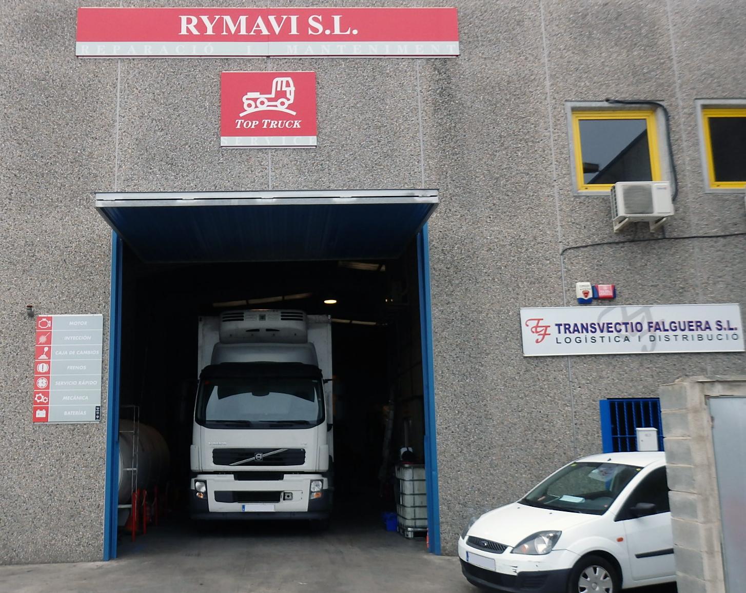 Rymavi Top Truck  Fachada