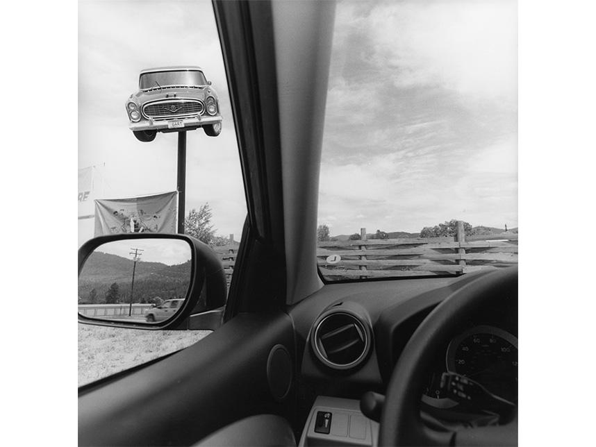 Lee Friedlander, Montana, 2008.© Lee Friedlander, courtesy Fraenkel Gallery, San Francisco